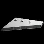 Redlica skrzydełkowa Farmet z węglikem wolframu ADS 9708D (lewa)