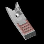 Dziób Lemken z węglikem wolframu BDL 4441B