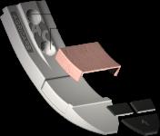 Dziób Horsch z węglikem wolframu SCH 0080C NO