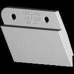 Nóž glebosze Agrisem z węglikem wolframu LAB 5122G (lewy) Agricarb