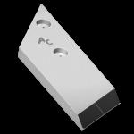 Nakładka lemiesza Maschio z węglikem wolframu PBL 4054G (lewa)
