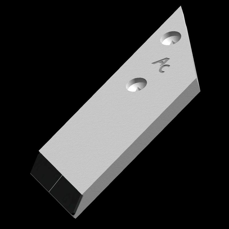 Nakładka lemiesza Opall-Agri z węglikem wolframu PBL 4054D (prawa)