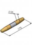 Czop PP-175 (175x25 mm
