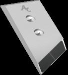 Nakładka lemiesza Gregoire - Besson z węglikem wolframu PBG 0024D (lewa)