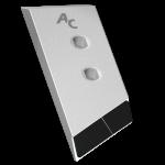 Nakładka lemiesza Gregoire - Besson z węglikem wolframu PBG 2385G (lewa)