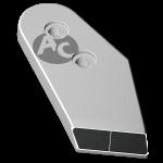 Nakładka lemiesza Kühn - Huard z węglikem wolframu PBH 0029D (prawa)