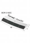 Dziób do przyspawania BOR 0180C  (40x180x12 mm)
