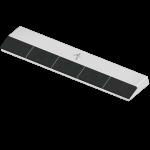 Dziób do przyspawania BOR 0225  (40x225x12 mm)