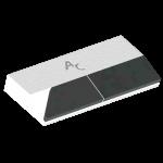 Dziób do przyspawania LEM 0272G  (40x90x12 mm)