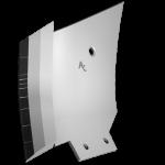 Pogłębiacz kroju nożowego Bonel z węglikem wolframu CLM 0270G (lewa)