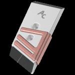 Nakładka lemiesza Pöttinger z węglikem wolframu PBK 9085D (prawa)