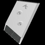 Nakładka lemiesza Overum z węglikem wolframu PBO 0120D (prawa)