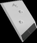 Nakładka lemiesza Overum z węglikem wolframu PBO 0120G (lewa)
