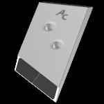 Nakładka lemiesza Overum z węglikem wolframu PBO 0131D (prawa)