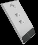 Nakładka lemiesza Ovlac z węglikem wolframu PBI 0018D (lewa)