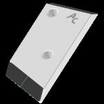 Nakładka lemiesza Pöttinger z węglikem wolframu PBP 0210D (prawa)