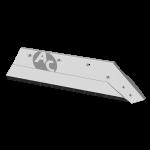 """Lemiesz Kverneland 16"""" z węglikem wolframu SBK 3056D (prawy)"""