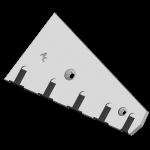 Płóz Lemken z węglikem wolframu CSL 1525G  (lewy)