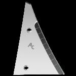Pierś odkładni Kühn - Huard z węglikem wolframu ETH 0064D (prawa)