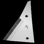 Pierś odkładni Kühn - Huard z węglikem wolframu ETH 0064G (lewa)