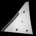 Pierś odkładni Kühn - Huard z węglikem wolframu ETH 0120G (lewa)