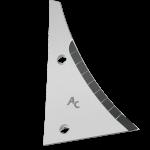 Pierś odkładni Kühn - Huard z węglikem wolframu ETH 1780D (prawa)