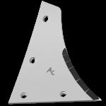 Pierś odkładni Kühn - Huard z węglikem wolframu ETH 0172D (prawa)