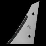 Pierś odkładni Kverneland z węglikem wolframu ETK 0250G (lewa)
