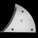 Pierś odkładni Lemken z węglikem wolframu ETL 3450D (lewa)