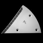 Pierś odkładni Lemken z węglikem wolframu ETL 3454D (lewa)