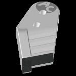 Nakładka lemiesza Kühn - Huard z węglikem wolframu PBH 2128G (lewa)