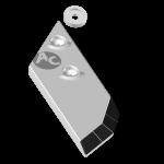Nakładka lemiesza Lemken z węglikem wolframu PBL 4156NG (lewa)