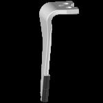 Ząb brony aktywnej Agram z 2x węglikem wolframu  DAG 3619G (lewy)