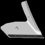Redlica skrzydełkowa Kockerling z węglikem wolframu ADK 0005D  (prawa)