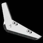 Redlica do zbioru buraków Holmer z węglikem wolframu SRH 0018G (lewy)