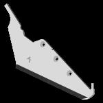 Redlica do zbioru buraków Matrot z węglikem wolframu SRM 7282G (lewy)
