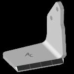 Redlica skrzydełkowa Bednar z węglikem wolframu 0351D (prawa)